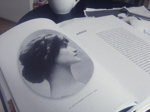 reading coco close up pic