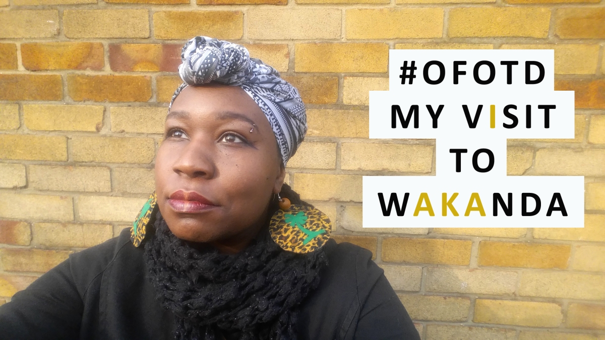 🌴OFOTD - MY VISIT 🥁 TO WAKANDA ✊🏿